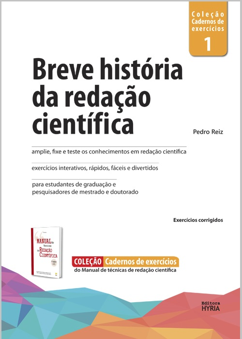 Breve história da redação científica, v.1